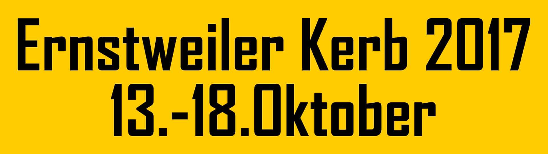 Ernstweiler Kerb 2017