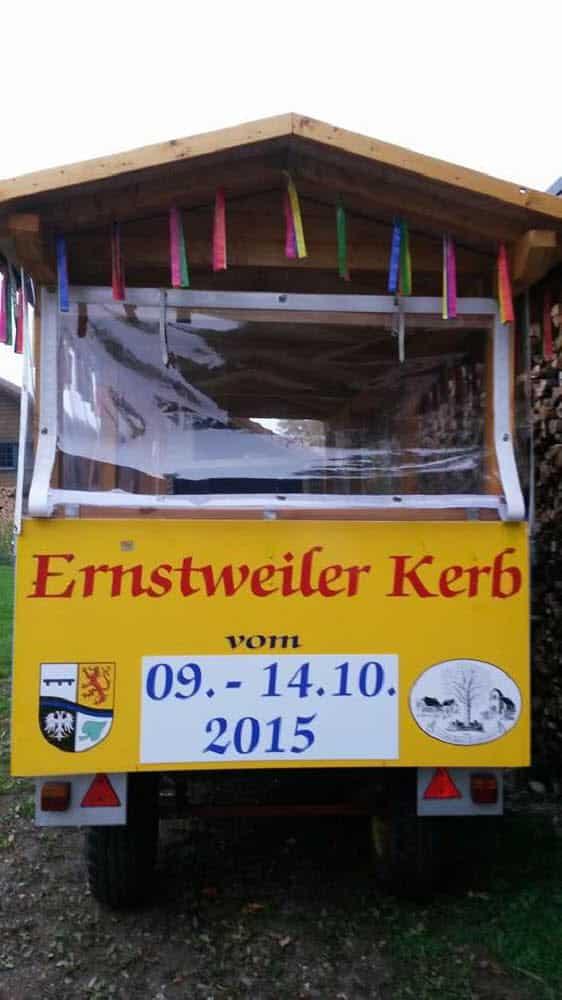 Ernstweiler Straußbuben - Wagenbau